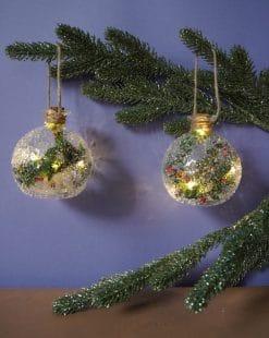 шары стеклянные елочные