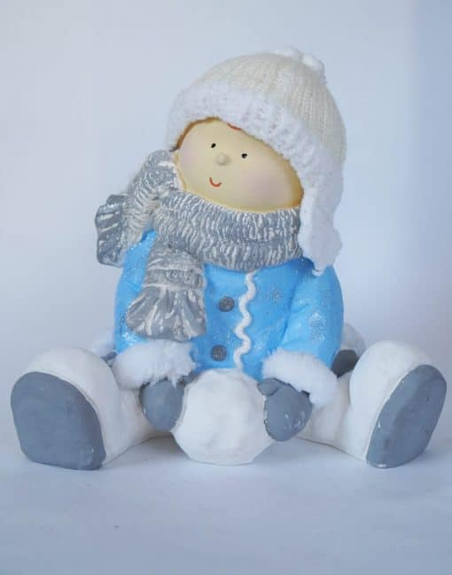 фигура Мальчик в шапке
