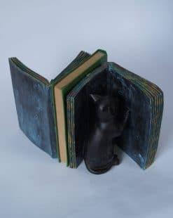 подставка для книг коты