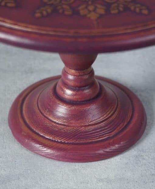 тортовница деревянная