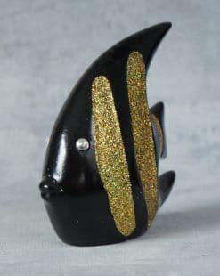 фигурка рыба чёрная