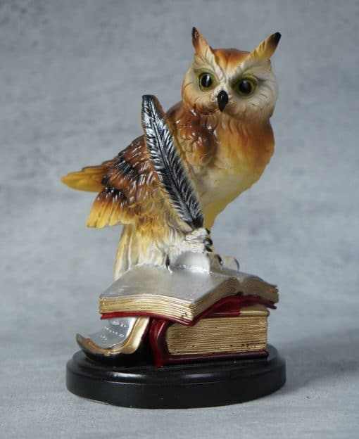 мудрая сова фигурка