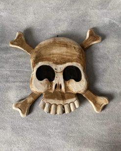 панно деревянное пират