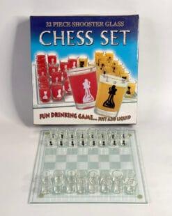 шахматы алкогольные с рюмками