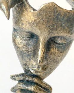 статуэтка маска лицо