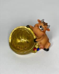 статуэтка бычок купить