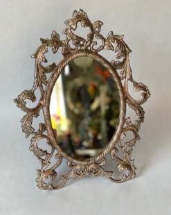 зеркало настольное латунь