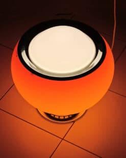 светильник оранжевый шар